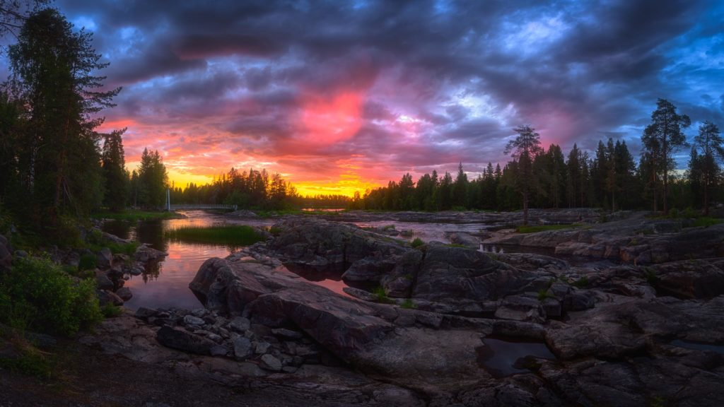 Kitkajoki sunrise© 2019 Mikko Leinonen