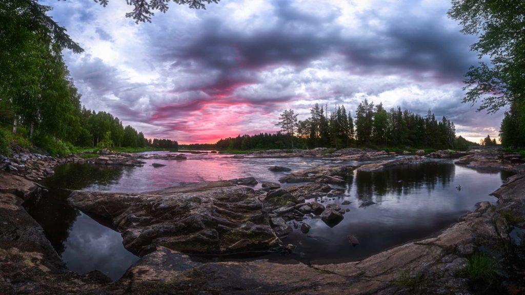 Koiteli Cloudy sunrise© 2017 Mikko Leinonen