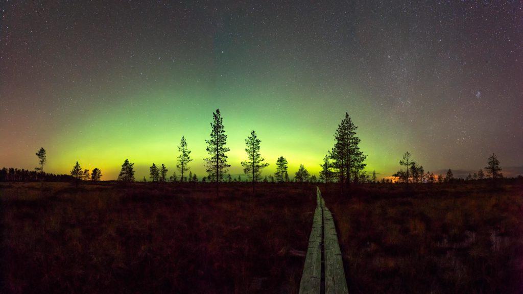 My road to auroras© 2018 Mikko Leinonen.