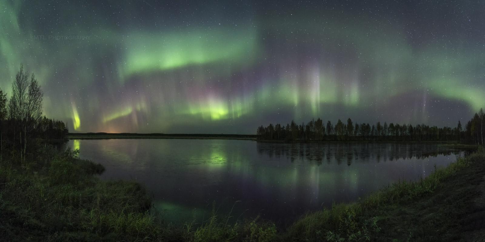 Dancing Aurora